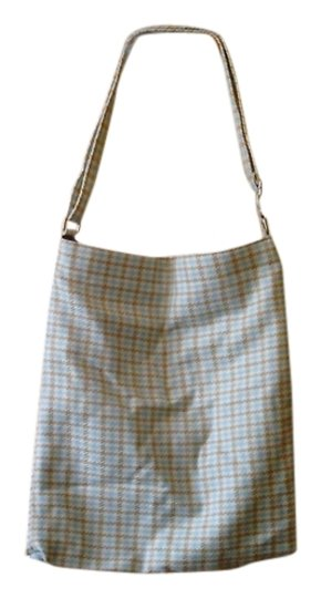 Old Navy Tote in BLUE, TAN AND BROWN