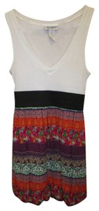 Self Esteem short dress Multi Sun Tank Mini Skirt on Tradesy