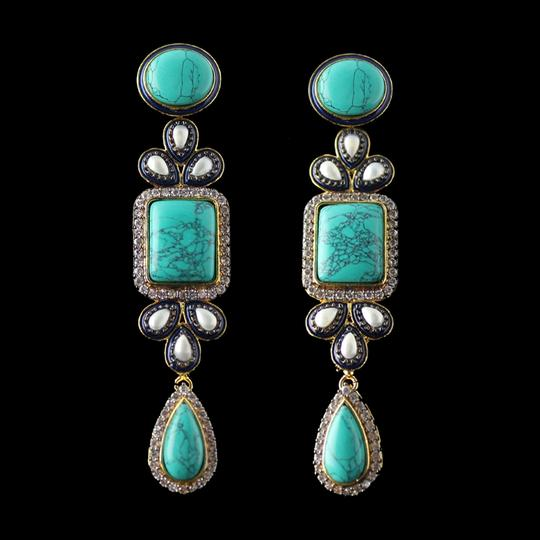 Other Turquoise with Pearl and Black Diamond finish