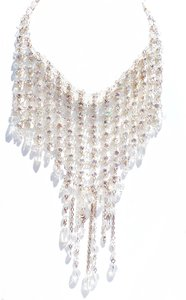 Unknown Gorgeous Swarovski Crystal Statement Necklace