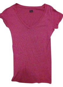 BDG Comfy Soft Layering T Shirt Cardinal red
