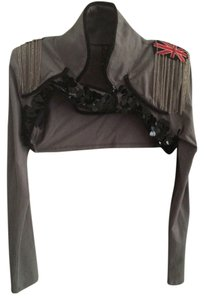 Material Girl (by Madonna) Top Grey