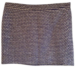J.Crew Skirt Navy Tweed