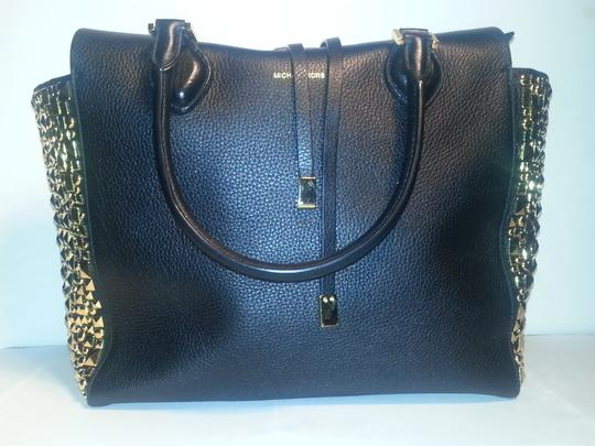 caf8354d7009 Michael Kors Black Bag With Gold Studs | Stanford Center for ...