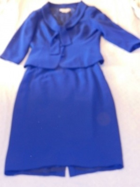 Maggy London Maggy London royal blue skirt suit