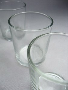 Quick Candles Glass 40 Votives Tableware