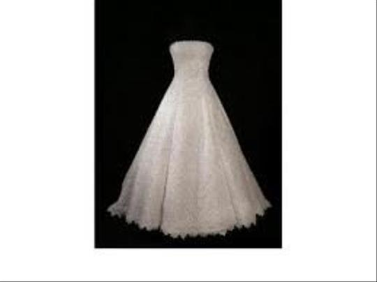 Michelangelo White Lace Ct2406 Formal Wedding Dress Size 14 (L)