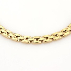 Cartier Cartier Panther Link 18k Yellow Gold Collar Necklace
