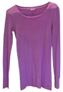 PINK Long Sleeve Longsleeve Thermal Thermal Victorias Secret Vs T Shirt Purple