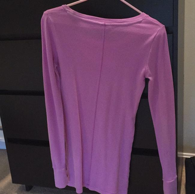PINK Long Sleeve Longsleeve Thermal Thermal Victorias Secret Vs T Shirt Purple Image 3