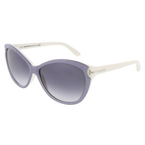 Tom Ford Tom Ford Light Grey Cateye Sunglasses