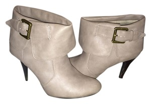 New Directions Beige Boots