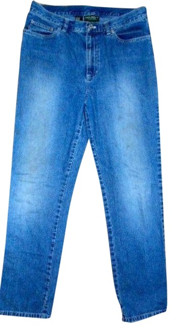 RALPH LAUREN Size 10 Classic Co Cute Relaxed Fit Jeans-Medium Wash
