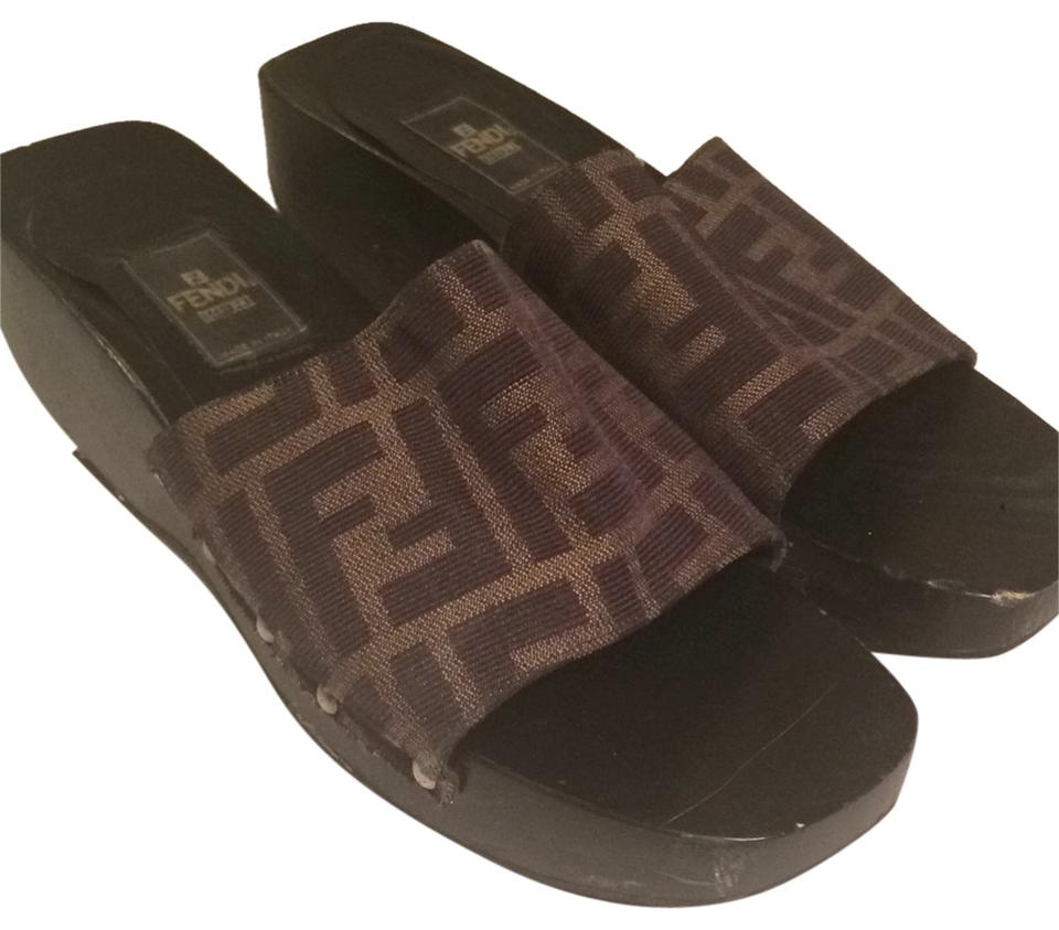 MISS Fendi Brown Mules/Slides Mules/Slides Brown Call first a1fbdf