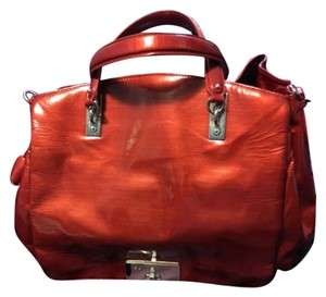 Céline Satchel in Red