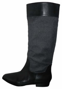 Via Spiga black and grey Boots
