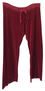 Juicy Couture Relaxed Pants Crimson