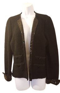 Adolfo Evening Black with sequins Jacket