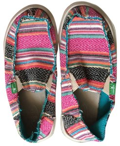 Sanuk Multi-Colored Mules
