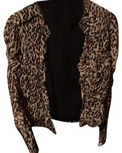 Kay Unger Top Leopard print