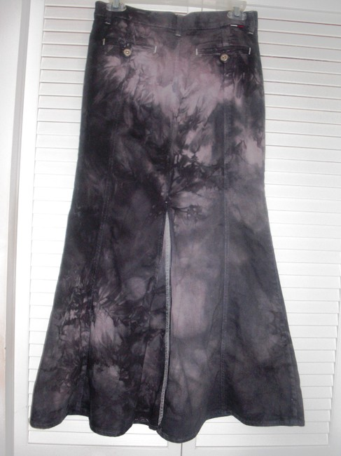 Tommy Hilfiger Maxi Skirt Tie Dyed Image 3