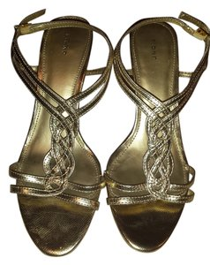 Fioni Strappy Gold Sandals