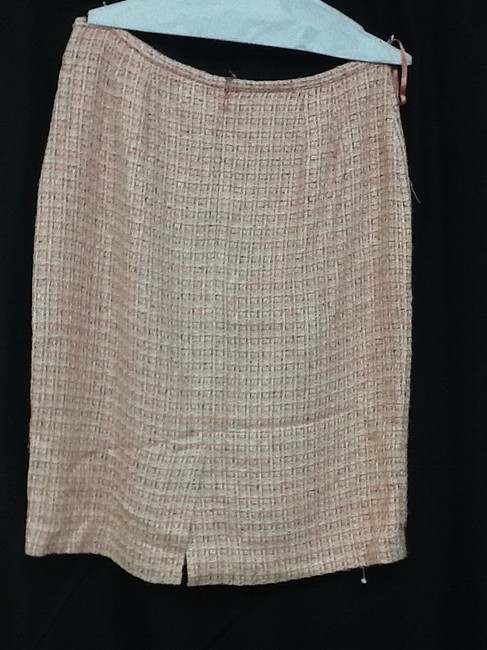 Worthington Skirt Salmon/Off White