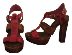 Dolce Vita Purple & Brown Platforms