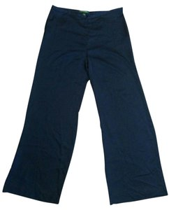 Ralph Lauren Satin Wide Leg Pants Blue