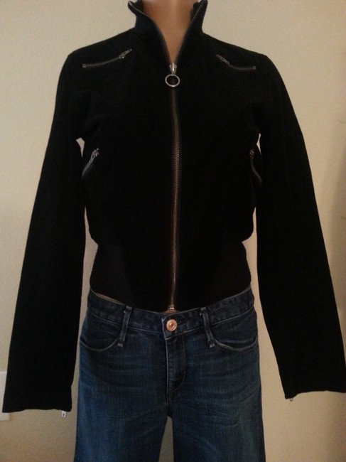 bebe Bomber Stylish Motorcycle Jacket