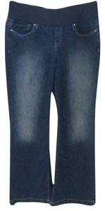 Gap Maternity Demi Panel Flare Leg Jeans