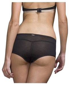 Wundervoll Silk Jersey Black Brief