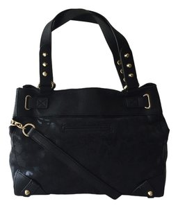Juicy Couture Holiday Shimmer Christmas Tote in Black