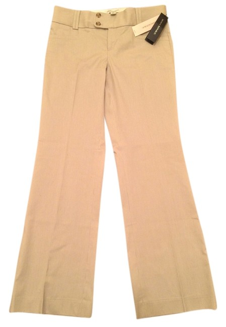Item - Gray/White The Sloan - Stretch Pants Size Petite 4 (S)