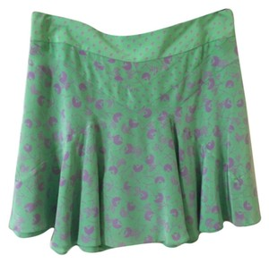 Marc Jacobs Mini Skirt Green & Purple