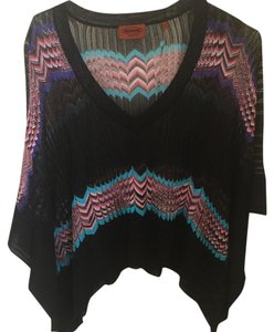 Missoni Top black purple and pink