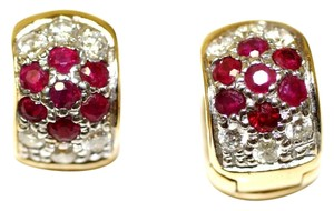 Ruby Rox Happy Diamond Haggies Earrings