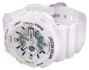 Other Water Shock Resistant Wrist Watch White Special Edition Analog Digital Mens