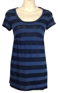 Splendid Babydoll Short Sleeved T Shirt blue