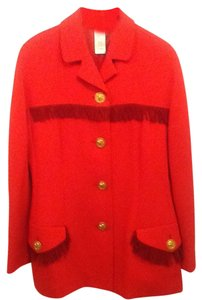 Versace Red Blazer