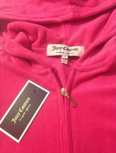 Juicy Couture Pink Zip P Hoodie Hood New Jacket