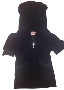 Juicy Couture Hoodie Black Sleeves New Jacket
