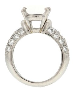 STEAL - MUST SEE Platinum and 1.5 ct tw diamond semi-mount weding/egagement