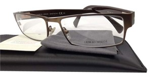 Giorgio Armani NEW GIORGIO ARMANI GA 810 COLOR PM2 BROWN METAL EYEGLASSES FRAME ITALY