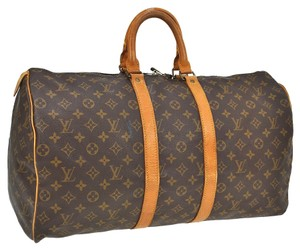 Louis Vuitton Weekender Monogram Travel Bag