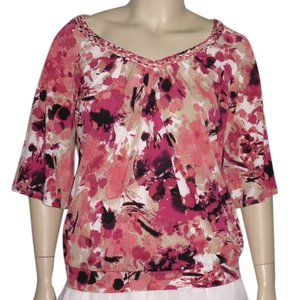 East 5th Essentials Top Pink Multicolor