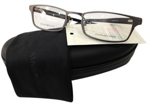 Emporio Armani NEW EMPORIO ARMANI EA 9766 COLOR BZS GUNMETAL EYEGLASSES FRAME MADE IN ITALY