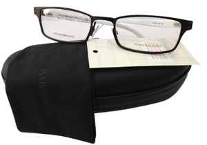 Emporio Armani NEW EMPORIO ARMANI EA 9766 COLOR O8K GUNMETAL/WHITE EYEGLASSES FRAME MADE IN ITALY
