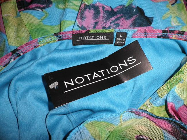 Notations Top Blue Multicolor