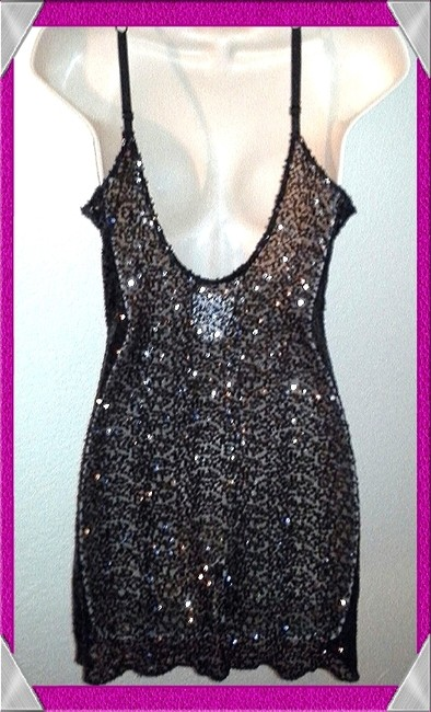 Free People Sequin Slip Urban Outfitters Boho Dress